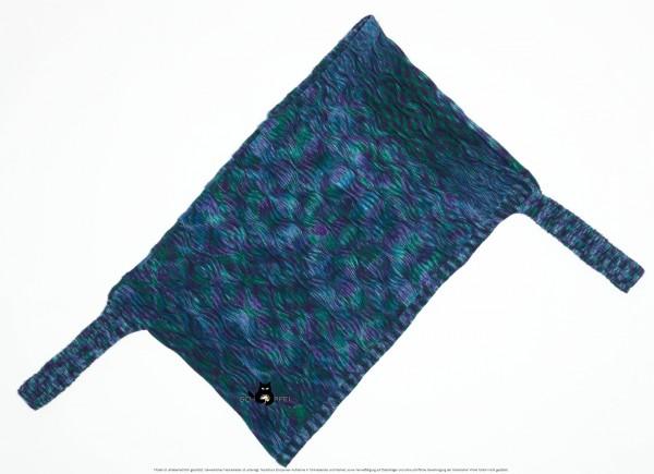 Ärmelponcho Blaue Lagune by SCHOPPEL DESIGN