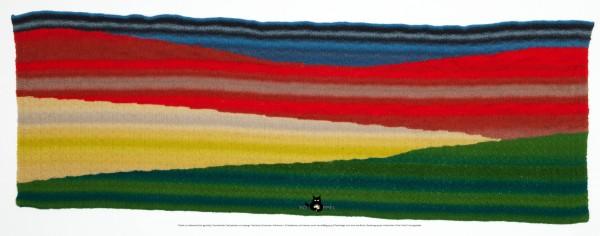 Stola Bunte Landschaft by SCHOPPEL DESIGN