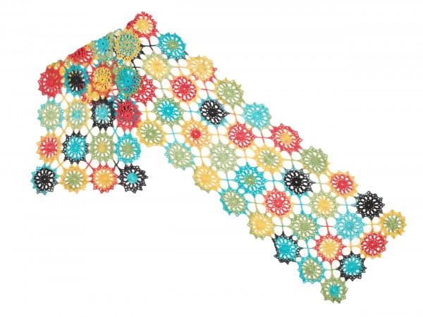 Schal Flower Power by SCHOPPEL DESIGN