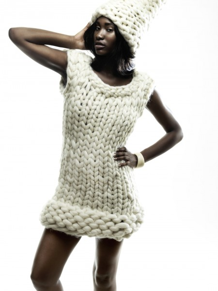 Dress White Cloud by SCHOPPEL DESIGN
